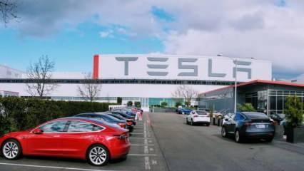 Tesla'da çip krizi üretimi durdurdu