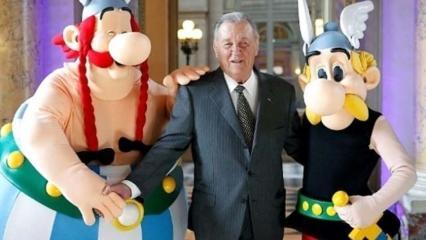 Çizgi kahraman Asteriks'in çizeri Albert Uderzo evinde ölü bulundu!