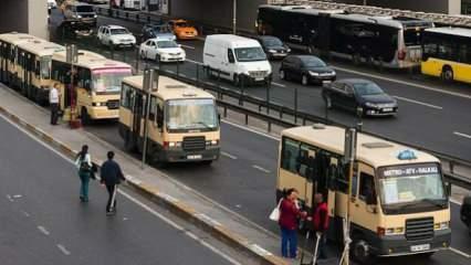 Hatlı minibüslere koronavirüs darbesi: 3 bin 500'ü parka çekildi