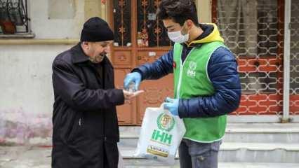 İHH'dan işten çıkarılanlar için yardım kampanyası