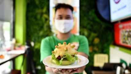 Vietnam'da Coronaburger satışları başladı! Yok artık dedirtti...