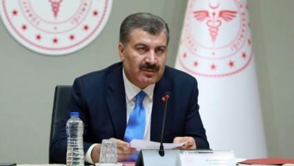 Sağlık Bakanı Koca'dan koronavirüs paylaşımı