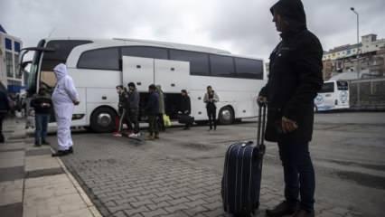 Son dakika: İstanbul Valisi açıkladı: 17.00 itibariyle otobüs çıkışları durduruldu