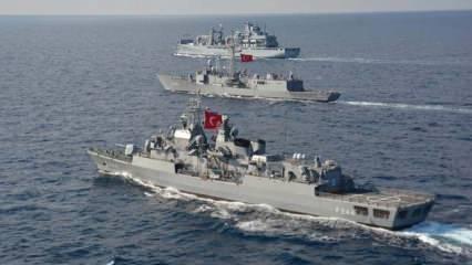 TSK koronavirüse karşı da mücadele veriyor: Donanmada en üst seviyede tedbir