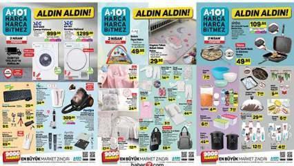 A101 2 Nisan Aktüel Kataloğu | A101'de bugün hangi ürünler indirimli?