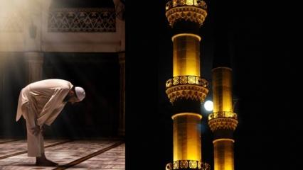 Akşam ile yatsı arası Evvabin namazı nasıl kılınır? Evvabin namazının sırları ve faziletleri