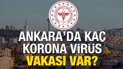 Ankara'da Korona virüs vakası kaça yükseldi? Kaç kişi hayatını kaybetti?