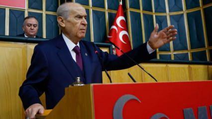 Devlet Bahçeli'den Remziye Tosun'a tepki: Bu müfsit şahıs Türkiye'nin asıl düşmanı