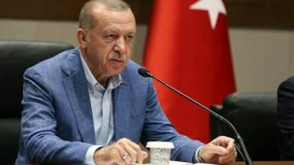 Erdoğan'dan Taşçıoğlu'nun eşine taziye telefonu
