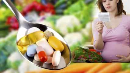 Hamilelikte güvenilir vitamin takviyeleri! Hamileyken hangi vitaminler nasıl kullanılmalı?