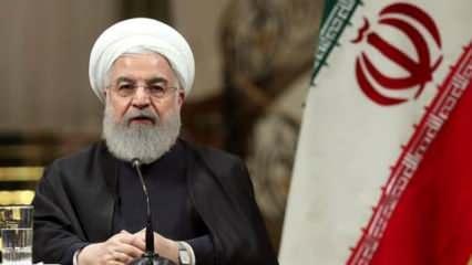 İran Cumhurbaşkanı Ruhani: Tüm eyaletlerimizde vaka sayısı düşmeye başladı