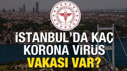 İstanbul'da Korona virüs vakası kaça yükseldi? Kaç kişi hayatını kaybetti?