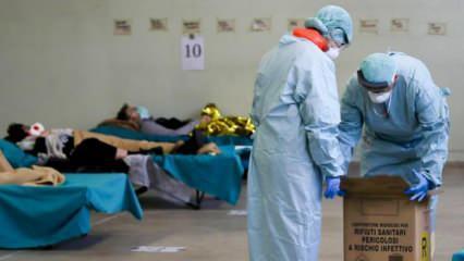 İtalya'da koronavirüsten ölenlerin sayısı 14 bin 681 oldu!