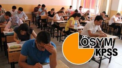 2020 KPSS ortaöğretim lise sınav tarihi açıklandı mı? (ÖSYM)