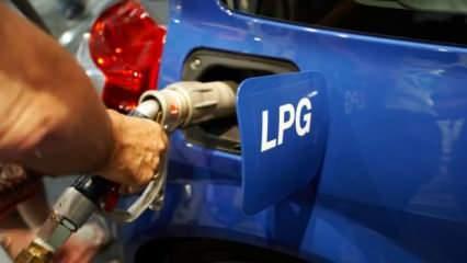 LPG fiyatında indirim