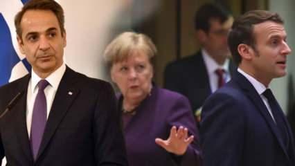 Miçotakis'ten Macron ve Merkel'e Türkiye teklifi: Yeterli güce sahipler...