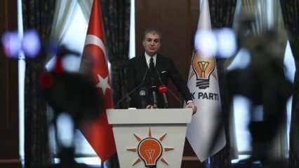 Kritik toplantı sonrası Ömer Çelik'ten önemli açıklamalar
