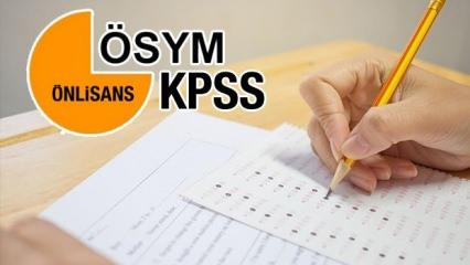 2020 KPSS ön lisans sınav tarihi açıklandı mı?