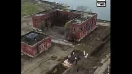 ABD'de yapılan toplu mezarlar drone ile görüntülendi!
