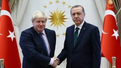 Başkan Erdoğan'dan Boris Johnson'a mektup!
