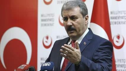 BBP Genel Başkanı Mustafa Destici'den Süleyman Soylu paylaşımı