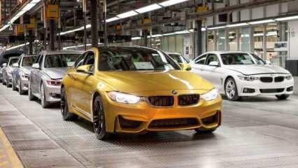 BMW üretimi 30 Nisana kadar uzattı!
