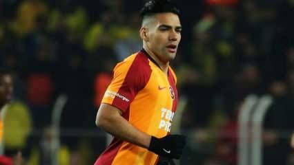 Radamel Falcao'dan ayrılık açıklaması!