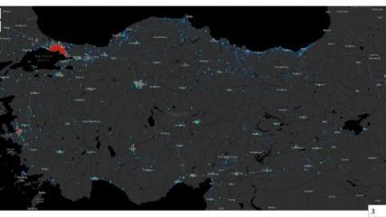 İstanbul'da Corona virüsün yoğun olduğu ilçeler açıklandı? İşte İstanbul vaka haritası!