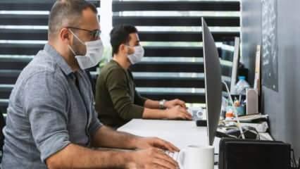 Kapalı ortamlarda çalışanlar dikkat! Sağlık Bakanlığı bilgilendirme yayımladı