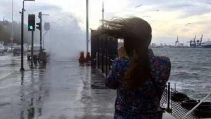 Meteoroloji'den üç bölge için sağanak ve fırtına uyarısı