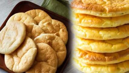 Evde un olmadan ekmek tarifi! Oopsie ekmek nedir? Kilo aldırmayan unsuz ekmek yapımı