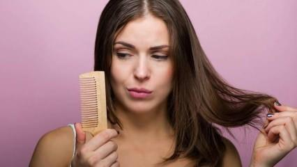 Saç neden dökülür? Saç dökülmesini durduran 3 doğal karışım