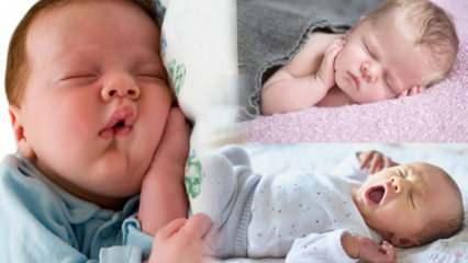 Bebeklerde yatış pozisyonları! Yeni doğan bebek nasıl yatırılır? Yüz üstü mü sırt üstü mü...