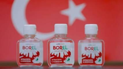 Boren nedir? Ne zaman satışa sunulacak? Borel el dezenfektanının fiyatı ne kadar olacak?