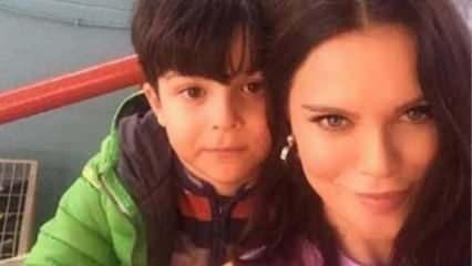 Ebru Şallı'nun oğlu Pars'ın videosu ortaya çıktı!