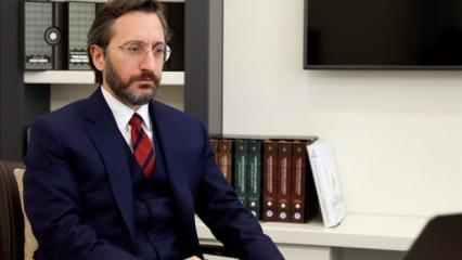 İletişim Başkanı Altun'un avukatından 'kaçak yapı' iftirasına açıklama