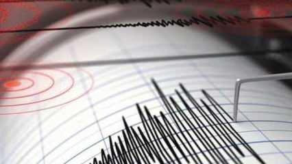 Son dakika haberi: Akdeniz açıklarında 3.7 büyüklüğünde deprem