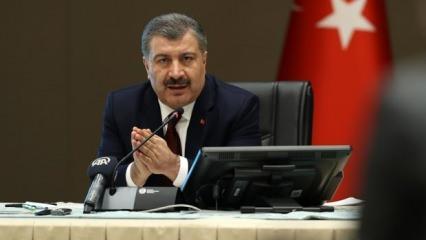 Sağlık Bakanı Koca'dan son dakika açıklamalar: İşte yeni vaka sayısı!