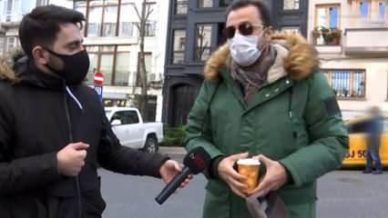 Ünlü oyuncu Yetkin Dikinciler ile muhabir arasında gerginlik yaşandı!