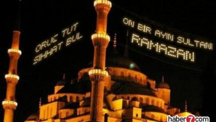 Ramazan mesajları: 2020 anlamlı güzel hoş geldin Ramazan mesajları!