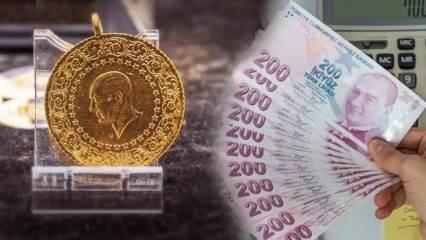26 Nisan Altın fiyatları rekor üstüne rekor! Gram altın ve Çeyrek ne kadar oldu?