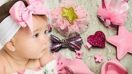 Bebeklere toka ne zaman takılır? Bebeklerde toka ve bandana kullanımı