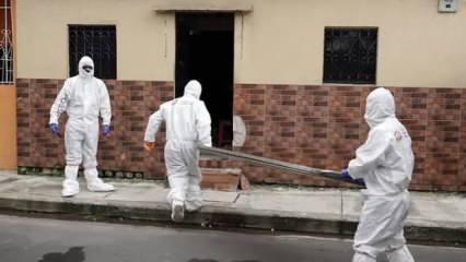Ekvador'da koronavirüs ölümleri artıyor