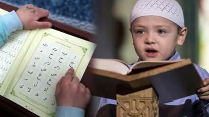 Kuran-ı Kerim eğitimine kaç yaşında başlanmalı? Çocuklara Kuran ne zaman öğretilmeli?