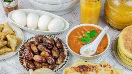 Ramazan'da dengeli beslenmenin yolları nelerdir? Sahur ve iftarda nelere dikkat edilmeli?