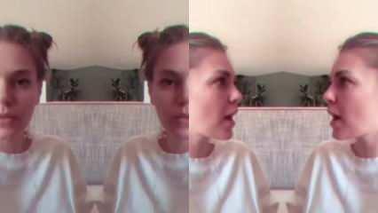 Aslı Enver'in karantinadaki video paylaşımı güldürdü!