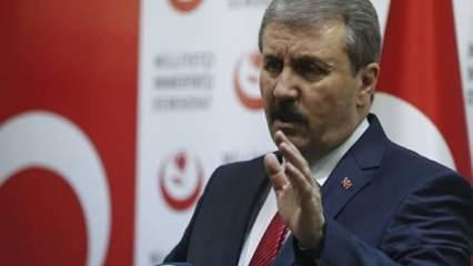 Mustafa Destici: Biz bu zihniyeti 28 Şubat sürecinde de gördük