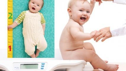 Bebeklerde boy ve kilo nasıl hesaplanır? Evde bebek nasıl tartılır? Bebekte boy ve kilo ölçümü
