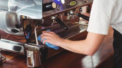 Kahve makinesini temizlemenin yolları! Kahve makinesinden kireç çıkar mı?