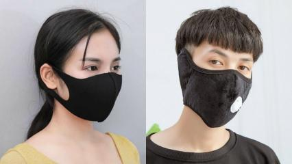 Siyah maske koronavirüsüne karşı etkili mi? Renkli maskeler hastalıklara mı neden oluyor?